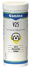 Canina V 25 Vitamin Tabletten 200 g