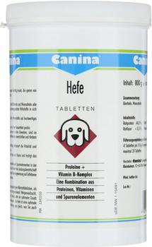 Canina Hefe Tabletten 800g