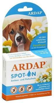 Ardap Care GmbH Spot-on für Hunde von 10-25kg 3x 2.5 ml
