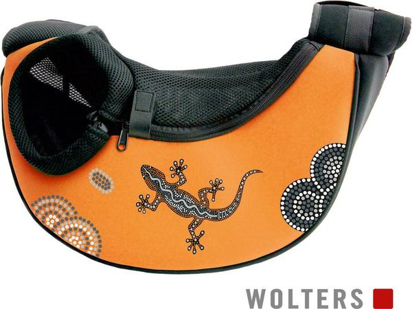 Wolters Sunset Bodypack - Aqua Trageseite Links