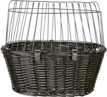 Trixie Fahrradkorb 50 × 41 × 35 cm schwarz