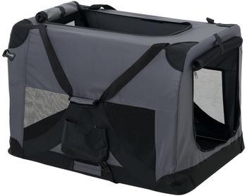 Pro-Tec Hundetransportbox grau faltbar S (2399)