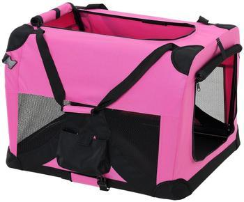 Pro-Tec Hundetransportbox pink faltbar S (2393)