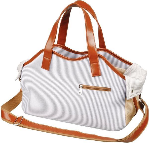 Trixie Tasche Amber - Blau/Weiß