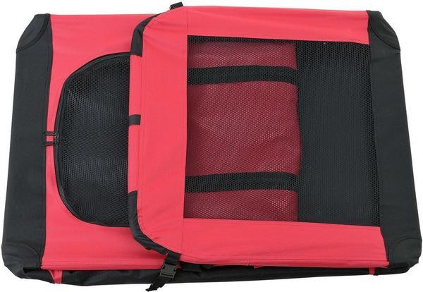 Pro-Tec Hundetransportbox rot faltbar XL (2387)