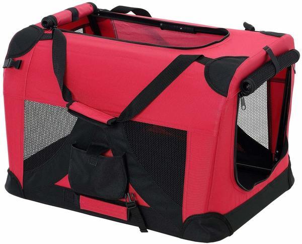 Pro-Tec Hundetransportbox rot faltbar L (2390)