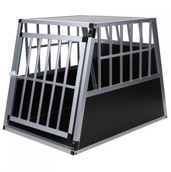 jalano-hundetransportbox-aluminium-xxl-schwarz-silber