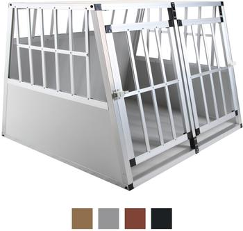 Jalano Doppel Gitterbox M grau