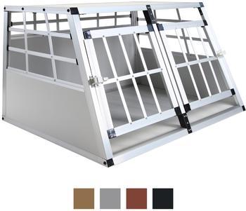 Jalano Doppel Gitterbox S grau