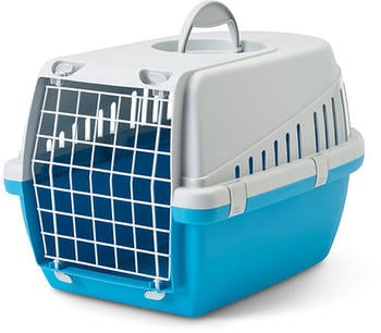 Savic Transport Box Trotter M Blue (56 x 37,5 x 33 cm)
