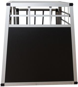 Juskys Hundetransportbox L schwarz