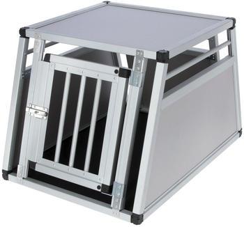 Kerbl Tiertransportbox Alu Barry eintürig 77x50x55cm