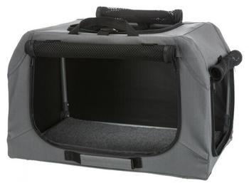 Trixie Soft Kennel Easy S-M 71x49x51cm grau