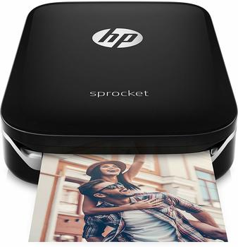 Hewlett-Packard HP Sprocket schwarz (X7N08A)