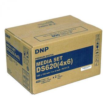 ampertec-dnp-ds620-media-set-10-x-15cm-2-rollen-je-400-blatt-2-baender