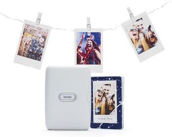Fujifilm instax mini Link Set ash white