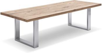 MCA Furniture Castello 220x76x100cm Eiche massiv gekälkt