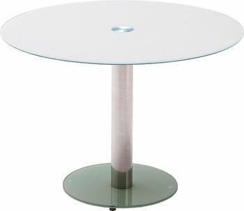 Roomscape Esstisch Glas Ø 100 cm weiß