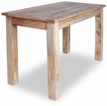 vidaXL Dining Table in Reclaimed Wood 120 x 60 x 77 cm