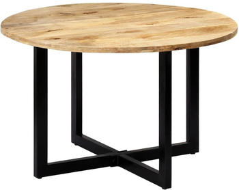 vidaXL Dining Table in Solid Mango Wood 120 x 73 cm