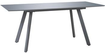 vidaXL Dining Table Glossy Grey 180 x 90 x 76 cm