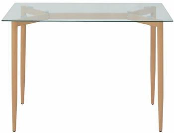 vidaXL Dining Table in Glass 120 x 70 x 75 cm