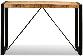 vidaXL Dining Table in Mango Wood 120 x 60 x 76 cm
