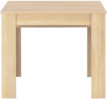 vidaXL Dining Table Expendable in Sonoma Oak 175 x 90 x 75 cm
