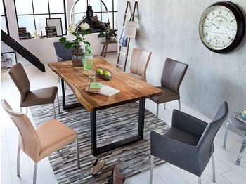 sam Tops&Tables 220x100cm nussbaum schwarz