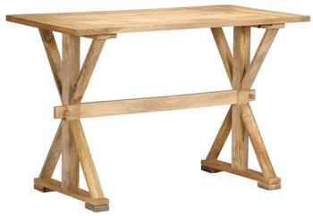 vidaXL Dining Table Mango Wood 140 x 70 x 76 cm