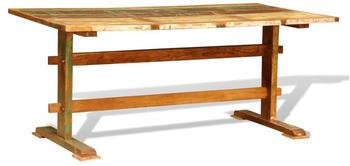 vidaXL Dining Table Vintage in Reclaimed Wood