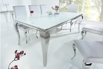 Riess-Ambiente MODERN BAROCK 200x105cm weiß