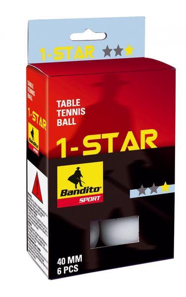 Bandito Tischtennis Bälle* 6 Stück