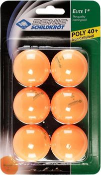 donic-schildkroet-elite-1-stern-poly-40-tt-ball-6er-pack-orange
