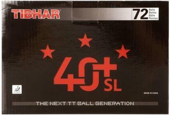 Tibhar Tischtennisbälle 3* 40+ SL X 72