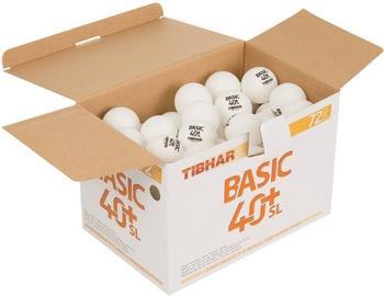 tibhar-tischtennisbaelle-basic-40-sl-x72
