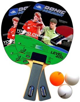 Donic Schildkröt Young Champs 400 Tischtennis-Set