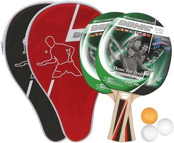 Donic Schildkröt Donic Top Team - Level 400 - Tischtennis-Set