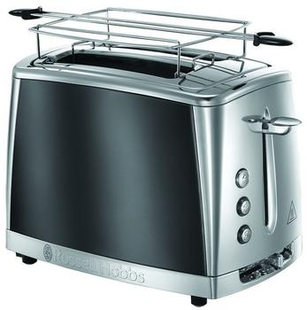 Russell Hobbs Luna Moonlight Grey Toaster 23221-56