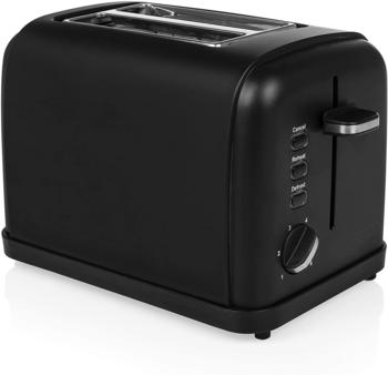 Princess Black Steel Toaster 01.142396.01.001