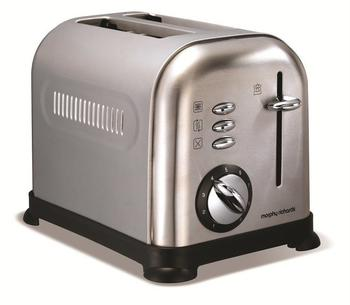 Morphy Richards Accents Brushed Toaster 44328