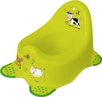 okt-babytopf-funny-farm-gruen