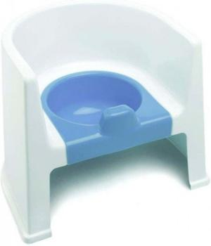 The Neat Nursery Potty Chair White/Blue