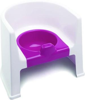 The Neat Nursery Potty Chair White/Pink