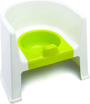 The Neat Nursery Potty Chair White/Lime