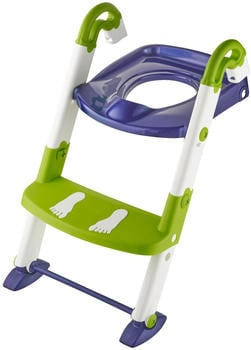 Kids Kit Toilettentrainer 3-in-1 perl blue/weiß/translucent lime