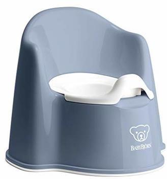 Babybjörn Topfstuhl graublau