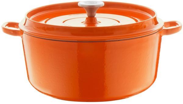 Berndes Bräter rund mit Gussdeckel 24 cm orange (034245)