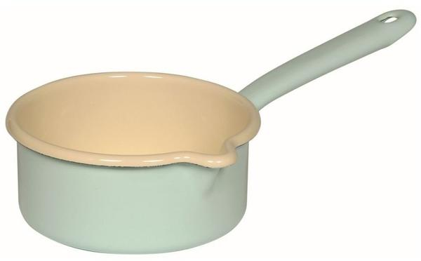 Riess Stielkasserolle mit Ausguss 14 cm türkis