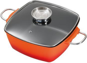 king-braeter-mit-glasdeckel-und-aromaknopf-28-x-28-cm-quadratisch-orange